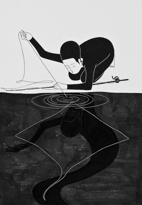 Daehyun Kim_Ray of Ray_Moonasi series_drawings