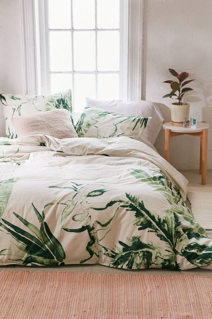 best  bedspreads comforters ideas on pinterest  comforters  - expressive palms duvet cover