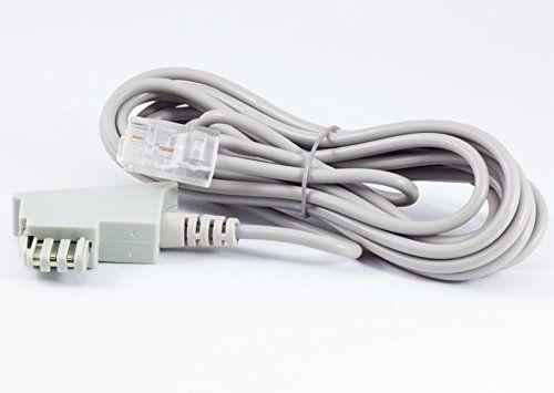 Câble dSL pour connexion iP tAE rJ45 gris 2,5 m voiP fritzbox speedport #Câble #pour #connexion #gris #voiP #fritzbox #speedport
