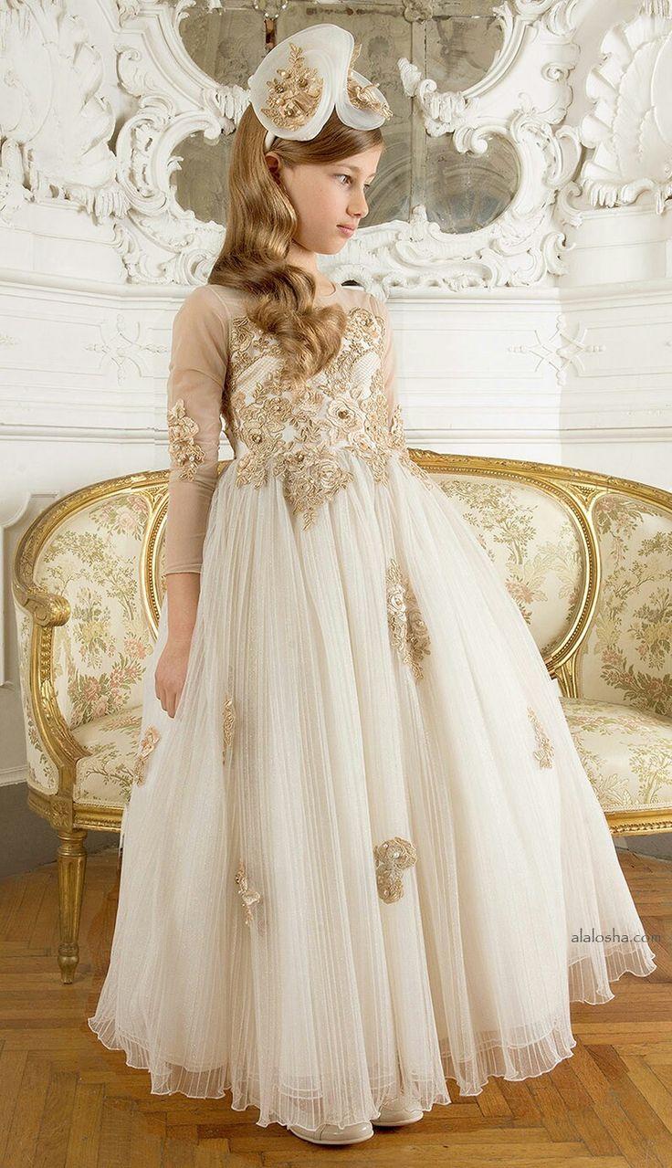 Young girls wedding dresses   best Çocuk images on Pinterest  American girl dolls Beautiful