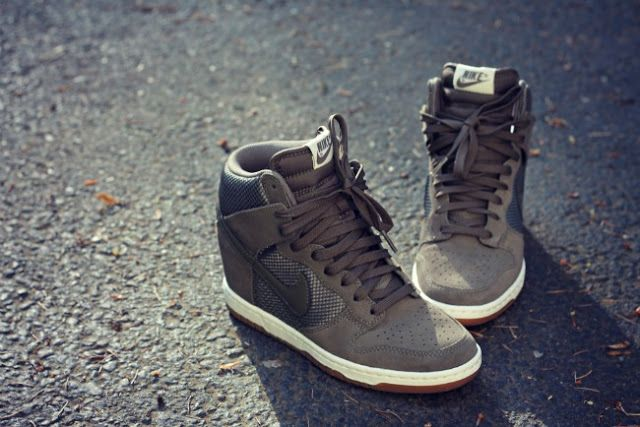 Wedged: Nike Sky High Dunks