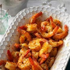Party Shrimp Recipe -The marinade for this dish makes the shrimp so flavorful, you won't even need a dipping sauce. Even those who claim they don't like shellfish really dig this appetizer. —Kendra Doss, Colorado Springs, Colorado