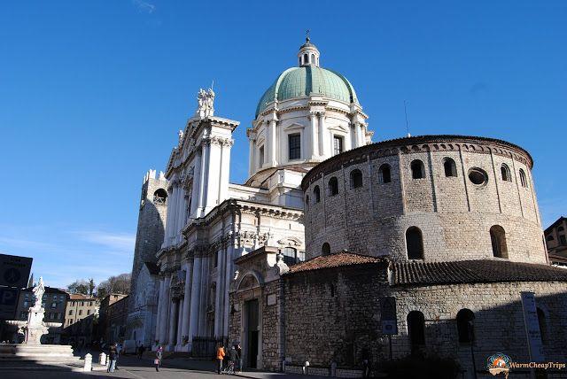 Brescia, cosa vedere in una giornata - i due Duomi