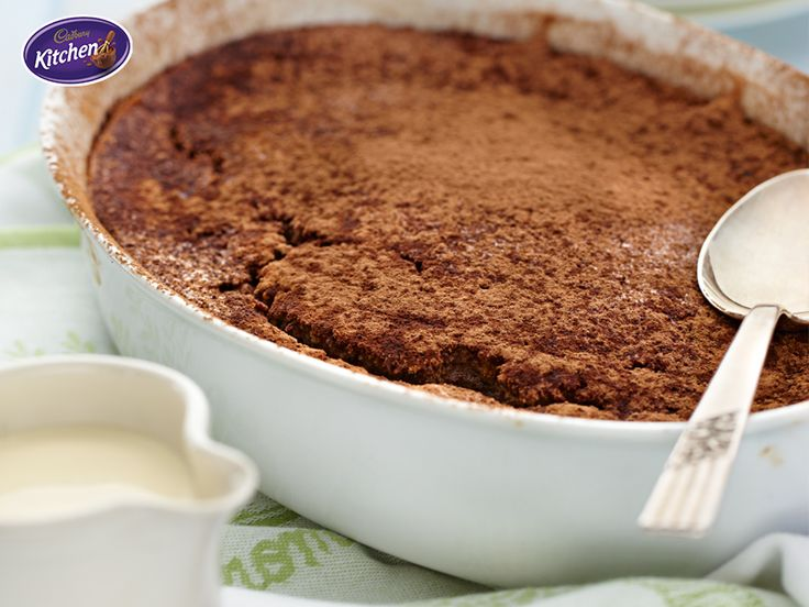 Brrrrr. As the #cold snap continues we're all reaching for our slippers, scarves and mixing bowls! Here's a #recipe that I know will bring you and your #family comfort this shivery season. #chocolate #pudding To view the #CADBURY product featured in this recipe visit https://www.cadburykitchen.com.au/products/view/bournville-cocoa/