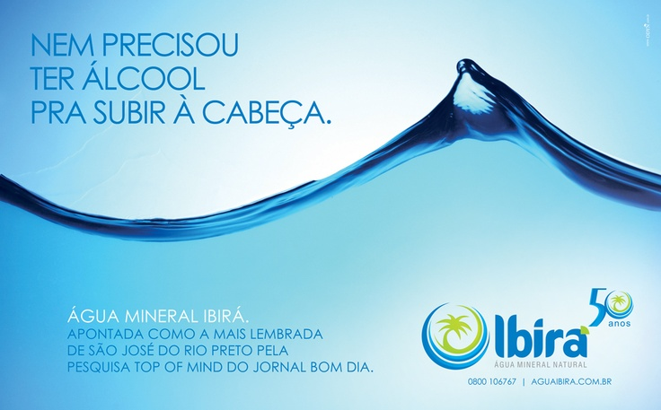 Água Mineral Ibira.