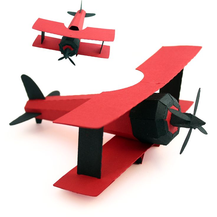 Here Are The Cut Shapes Used To Create The 3d Bi Plane A