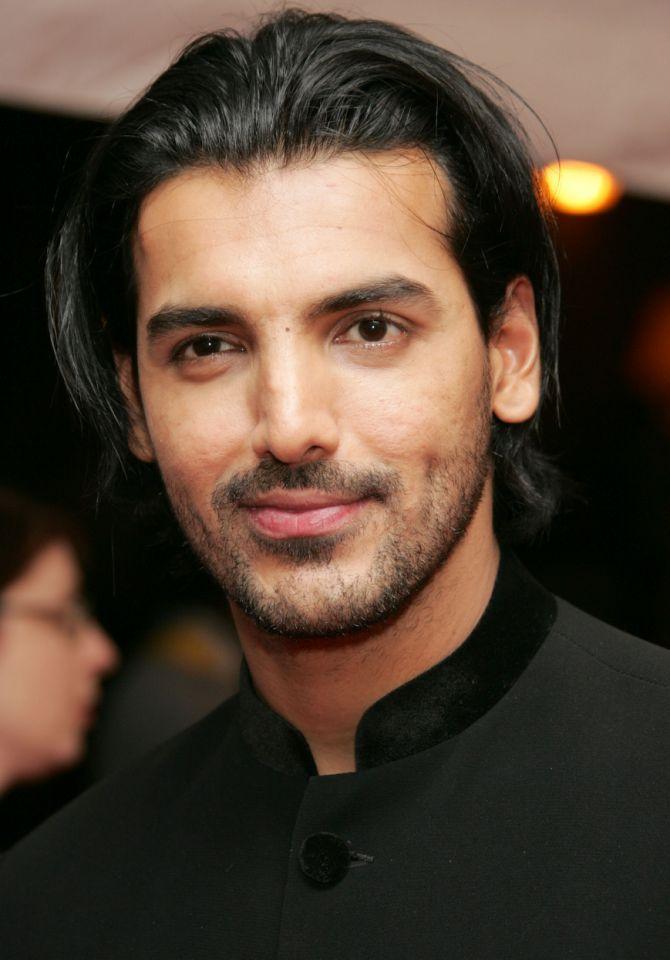 John Abraham Long Hair Google Search Indian Hairstyles Long Hair Styles Men Mens Hairstyles