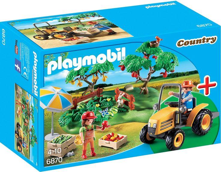 Amazon.de:PLAYMOBIL 6870 - StarterSet Obsternte, Spielwerkzeug