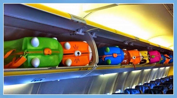 Maletas Trunki como equipaje de cabina