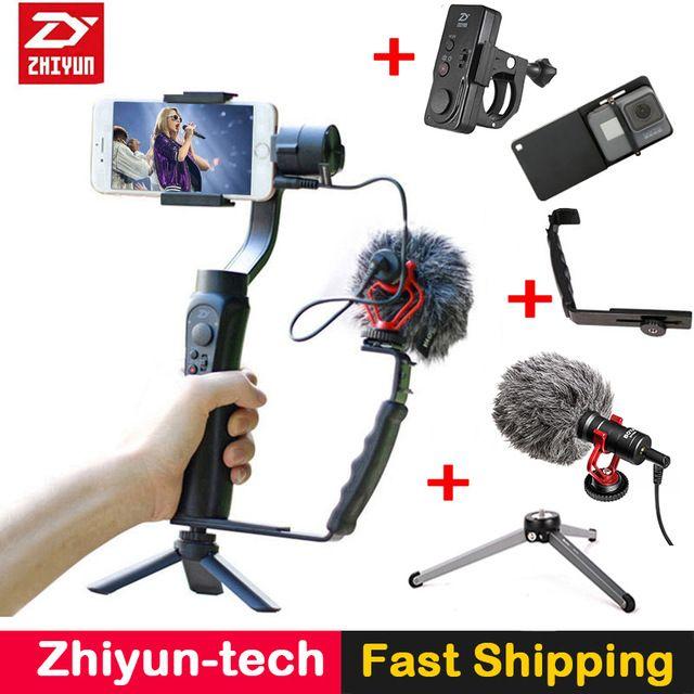 Zhiyun Smooth Q Smooth 4 3-Axis Gimbal Stabilizer w Boya BY
