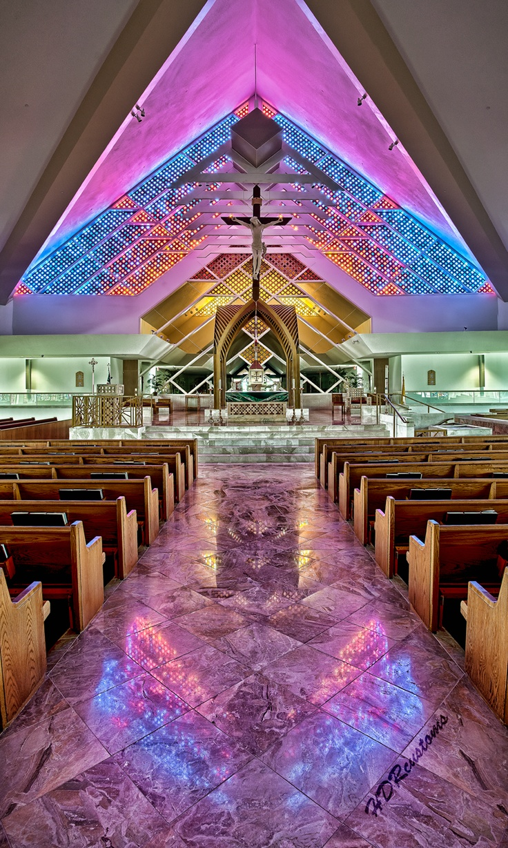 St. Jude Catholic Church, Tequesta, FL. This is my church.  I go every day I can and certainly every Sunday. JKR