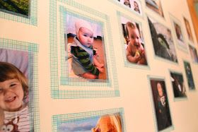 the golden adventures of...: DIY Washi Tape Frames (would be great if you are renting!!!!)