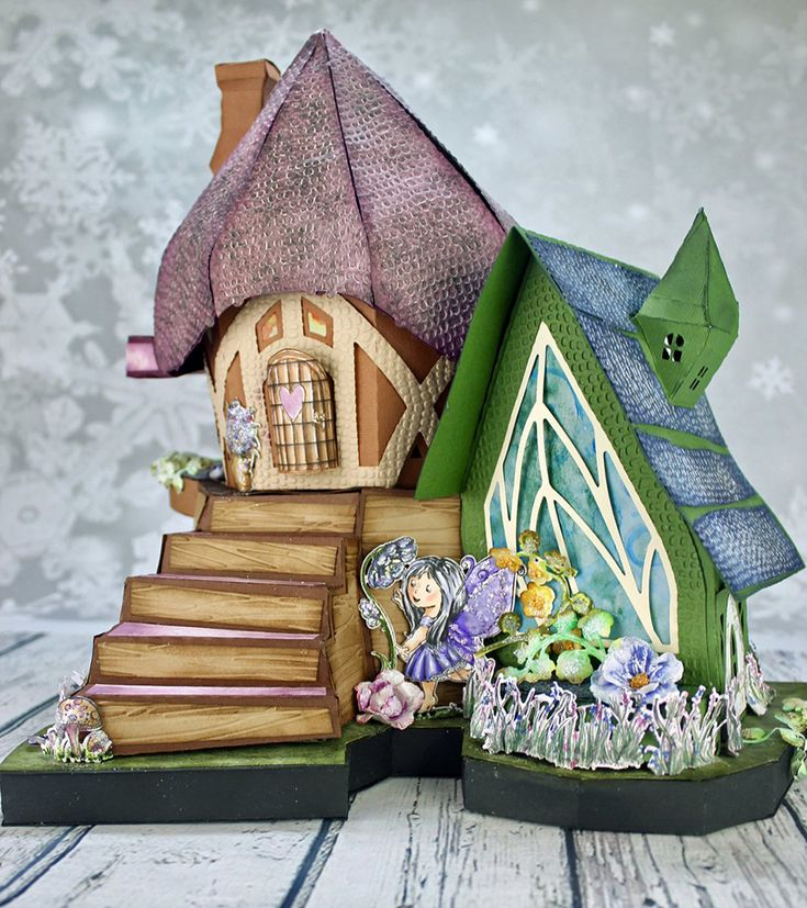 Wildwood Cottage Preview #2 - Heartfelt Creations- Oh my goodness this is jaw dropping.