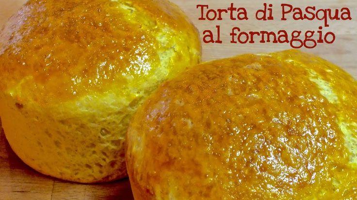 TORTA AL FORMAGGIO FATTA IN CASA DA BENEDETTA #pasqua INGREDIENTI 250ml di latte  60g di lievito di birra  2 cucchiaini di zucchero 700g circa di farina (preferibilmente 250g di manitoba e 450g di 00) 3 uova più un rosso per spennellare 100ml di olio extravergine di oliva 100g circa di formaggio pecorino grattugiato 200g circa di formaggio grana grattugiato 100g circa formaggio Groviera a dadini