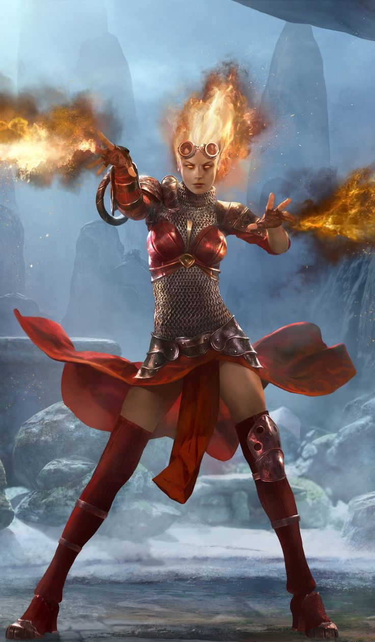 Magic 2014: Ignite Your Spark by *Cryptcrawler on deviantART (cropped for detail)