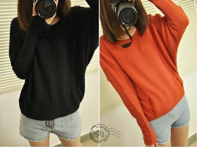 2012 autumn new arrival fashion normic set pullover outerwear pattern knitted coat 10% off $14.39