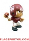"Texas A & M Aggies  Lil' Teammates Series 1 QB 2 3/4"" tall"