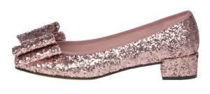 Pretty ballerinas Lindsay pink glitter 3cm heel
