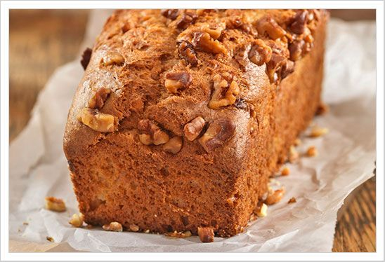 Sweet Potato-Maple Pecan Quick Bread Recipe from MyGourmetConnection