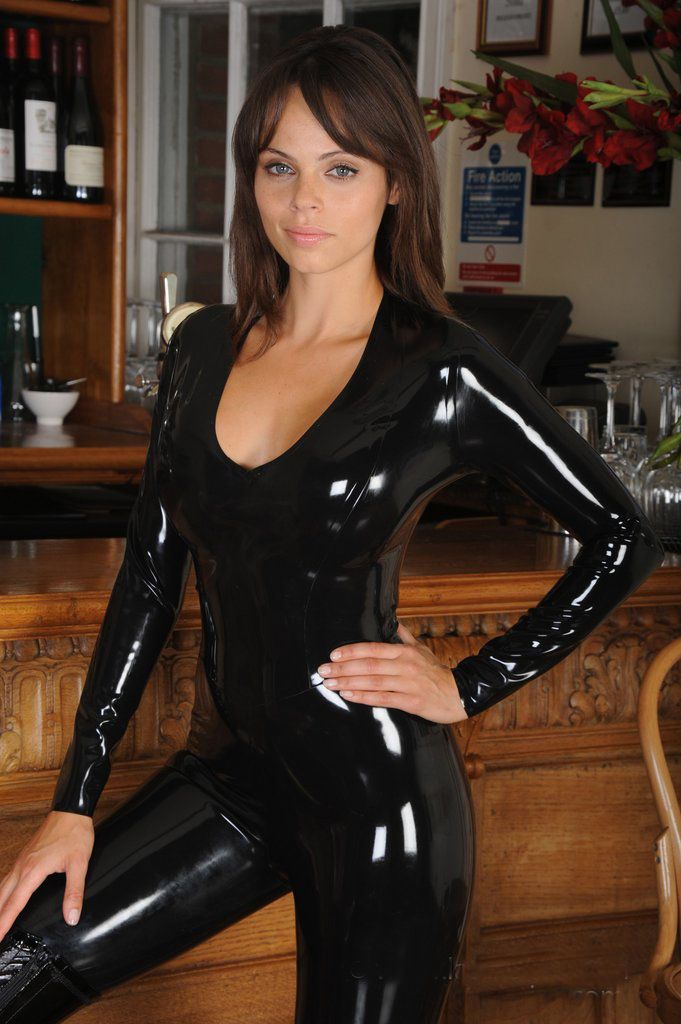 Womens Lingerie Pvc Catsuit Jumpsuit Clubwear Party Fancy Dress L1046 Smlxl