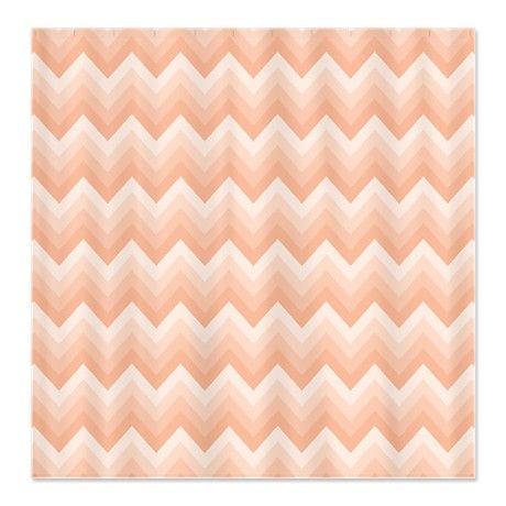 peach and gray shower curtain. Peach Bath Chevron Zigzag Shower Curtain And Gray  Home Design Health support us