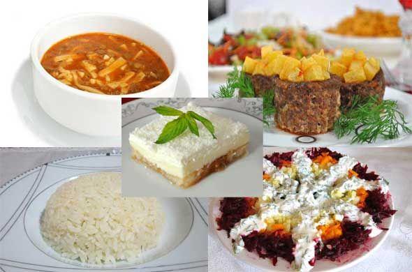 6. Gün ramazan iftar menüsü