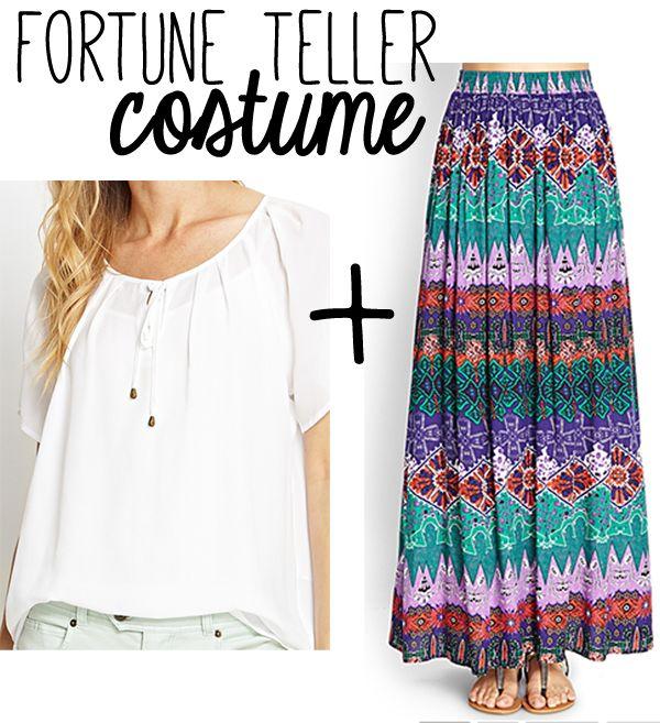 fortune teller costume diy - Google Search