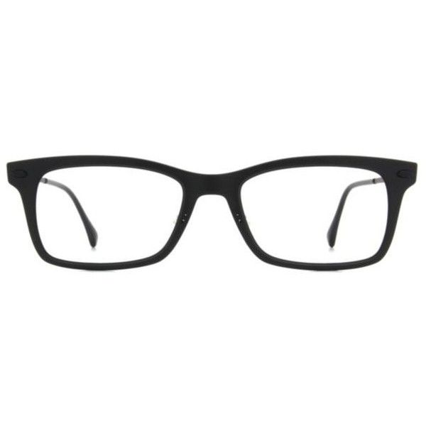 Ray-Ban RX7039 Unisex Eyeglasses ($210) ❤ liked on Polyvore featuring accessories, eyewear, eyeglasses, glasses, extra, men, black, black rimmed glasses, lightweight eyeglasses and rectangle eyeglasses