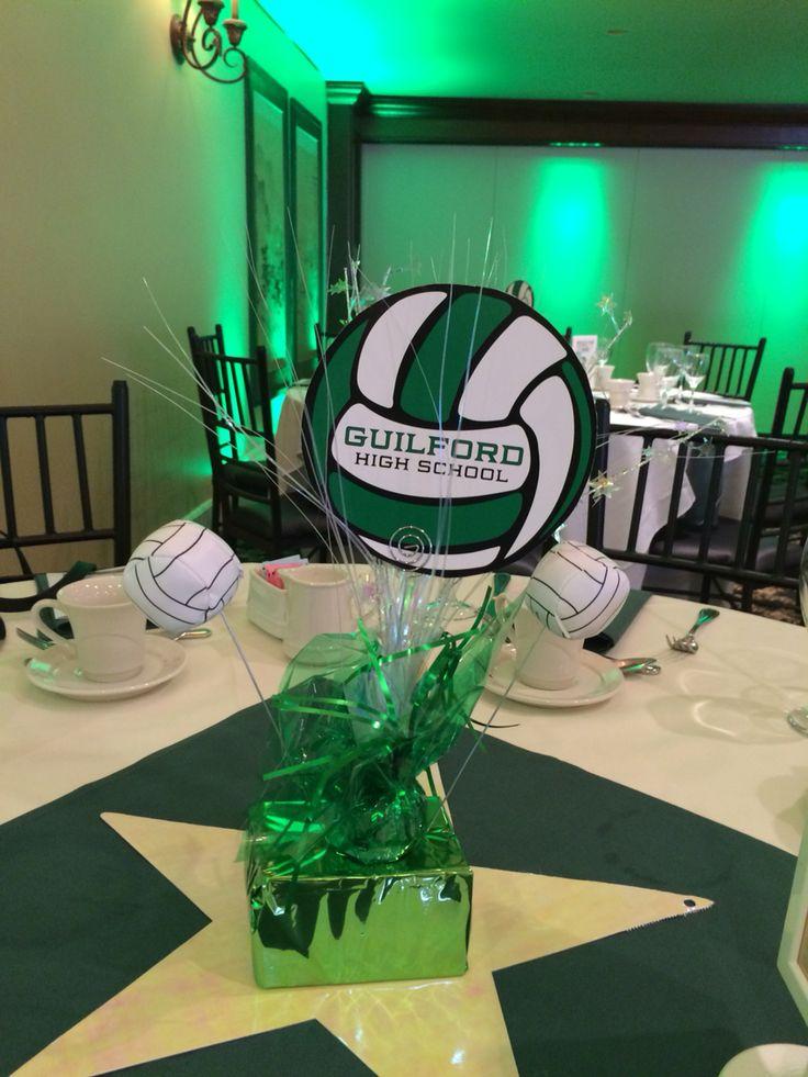 Unique sports banquet centerpieces ideas on pinterest
