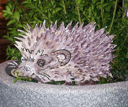 29 best Gartendeko - Bunte Tiere und Skulpturen images on - gartendeko aus polen