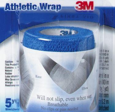 Jual Perban elastis biru 3M menyokong pergelangan tangan, kaki, lutu, siku - Brani Berkarya | Tokopedia