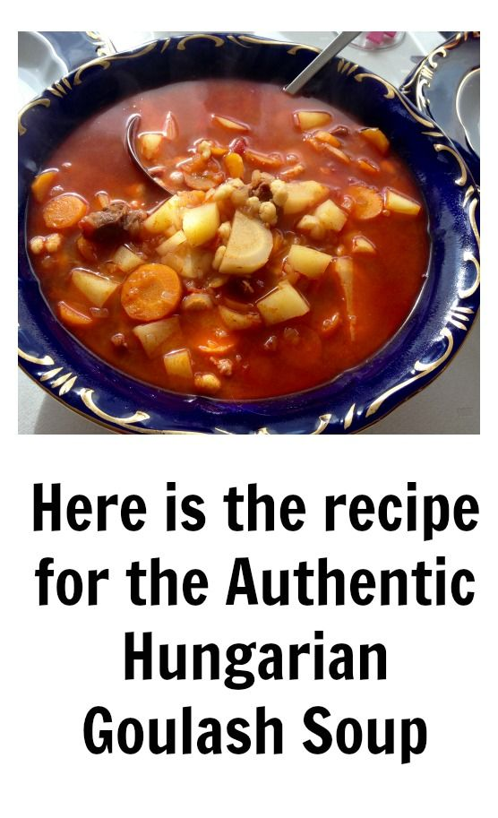 Anywhere in the world if you say the word goulash, people think of another word: Hungarian. Goulash soup is the most famous Hungarian dish. Click for the recipe and learn how to make it.