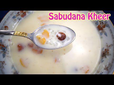Sabudana Kheer | Javarisi Payasam - Dosatopizza