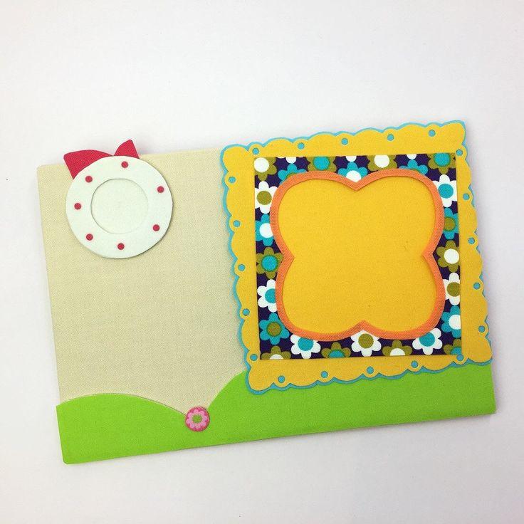フォトフレームが付いた小さなメッセージボード。カラフルなmemo boardはお部屋のアクセント。ハッピーなmemo board。玄関のmessage board。便利なウォールポケット。可愛いWall Decor。メモホルダー。女性用ギフト。女の子のギフト。(Etsy のChoppyPhotoframeより) https://www.etsy.com/jp/listing/574573031/fotofurmuga-fuita
