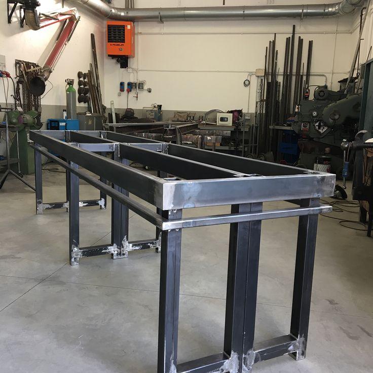 Tavolo da lavoro in Acciaio #table#iron#welding#fabrication