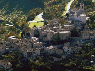 Tolentino, in province of Macerata. Le Marche, Italy.