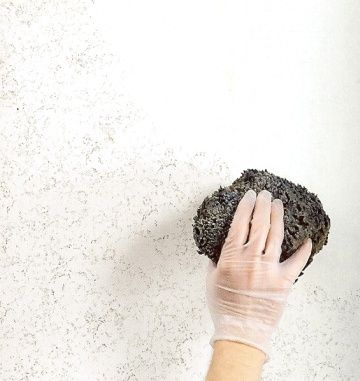 Question: I Want To Create A Subtle, Barely There Sponge Painting Finish On  My Kitchen Walls.