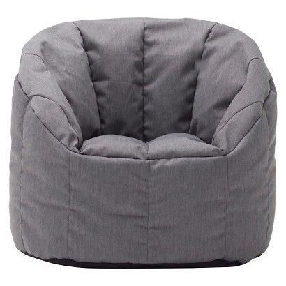 Small Bean Bag Club Chair - Circo™ - Heathered Gray