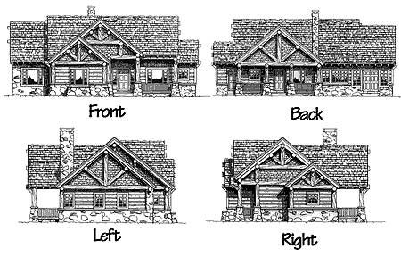 House Plans Vacation Mountain House And Home Design