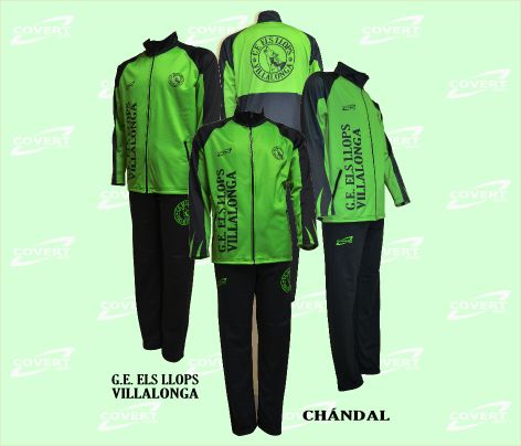 Covert Sport - Ropa Deportiva Personalizada - G.E. Els Llops Villalonga - Chándal