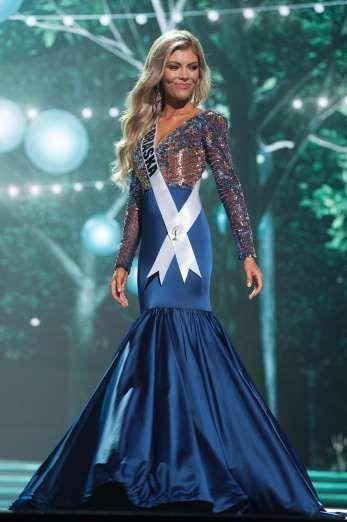 Jasmine Fuelberth, Miss Nebraska - Patrick Prather/Miss USA