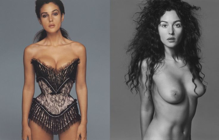 Pirelli Calendar 1997 Shot by Richard Avedon in New York  Monica Bellucci