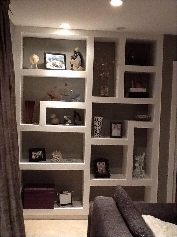 Decorating Built In Shelves Built In Wall Shelves Living Room