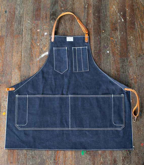 old leather barber apron - Buscar con Google