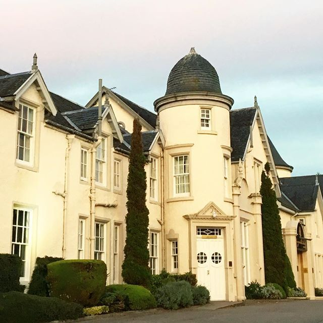 Our lovely hotel in #inverness looks like a castle! #stsinverness #scotland #omgb