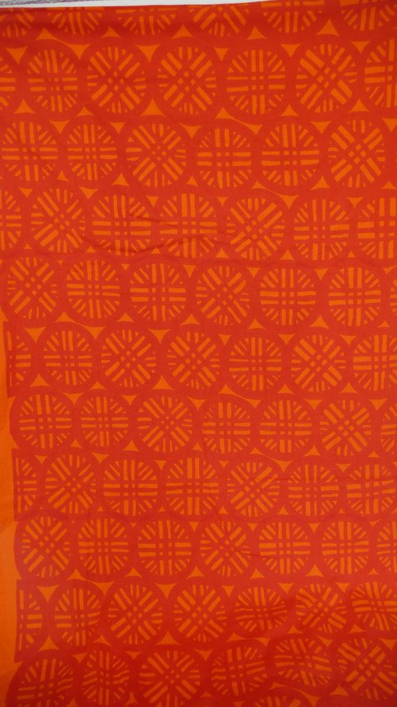 Mid Century Modern Circle Fabric by HausProud on Etsy