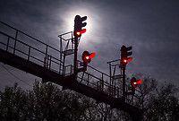 Signals at Concord, North Carolina (USA), 2017.  Photo: Will Jordan. Source: RailPictures.Net