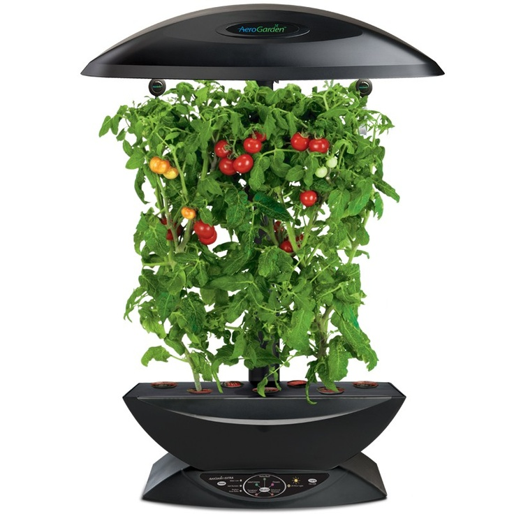 Twice The Height Of The AeroGarden 7 For Growing Bigger Plants, Full Sized