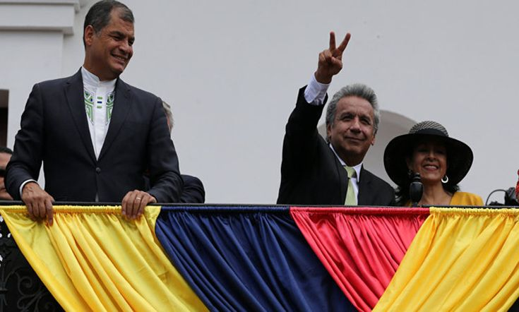 Correa celebra destitución de Moreno de presidencia de partido político