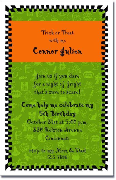 97 besten halloween invitations bilder auf pinterest | halloween, Einladung